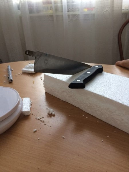 whoops knife styrofoam fail nation g rated - 8408764416