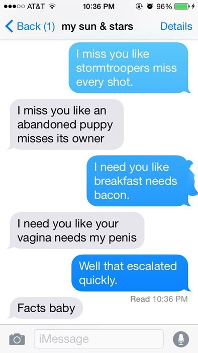 that escalated quickly flirting text sexting - 8408765696
