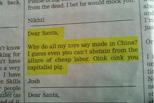 made in china santa newspaper fail nation g rated