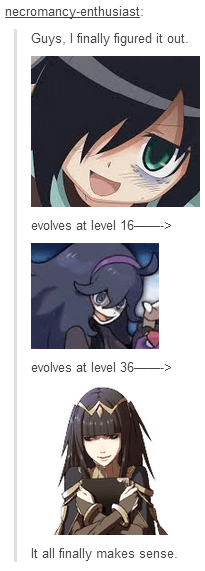 tomoko evolution tharja - 8408836864