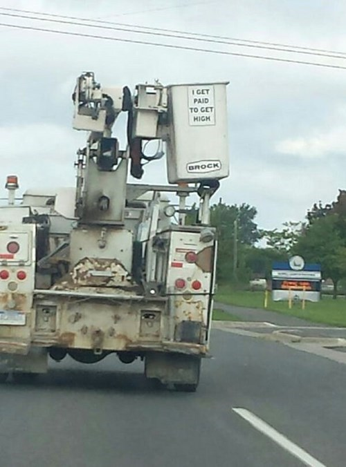 monday thru friday,sign,I see what you did there,cherry picker