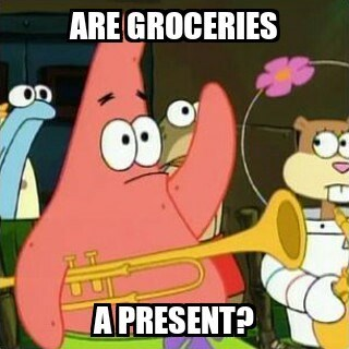 christmas,patrick star,Memes,money