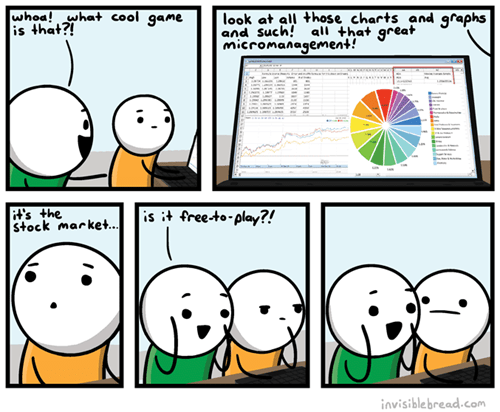in this economy Stock Market video games web comics - 8409462784