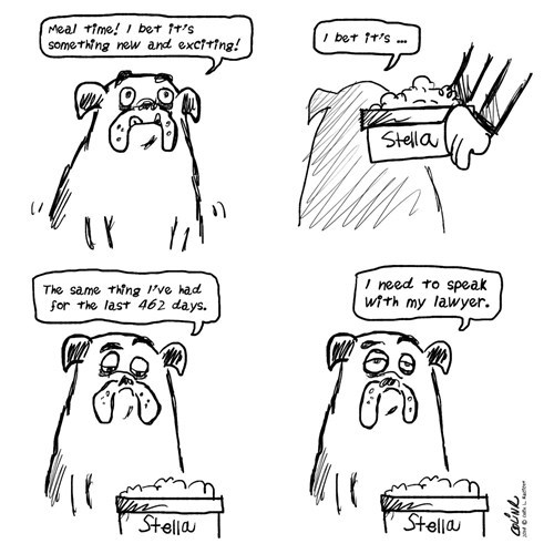 dogs sad but true food web comics - 8409465856