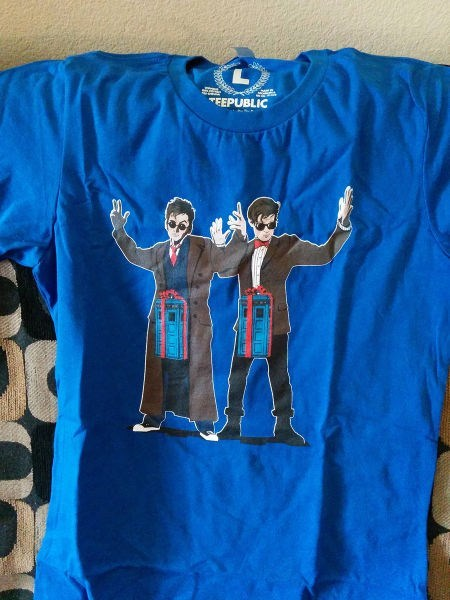 poorly dressed 10th doctor tardis t shirts 11th Doctor doctor who - 8409519104