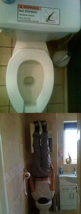 warning sign toilet fail nation