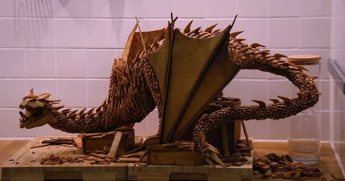 Lord of the Rings design nerdgasm smaug gingerbread g rated win - 8409572608