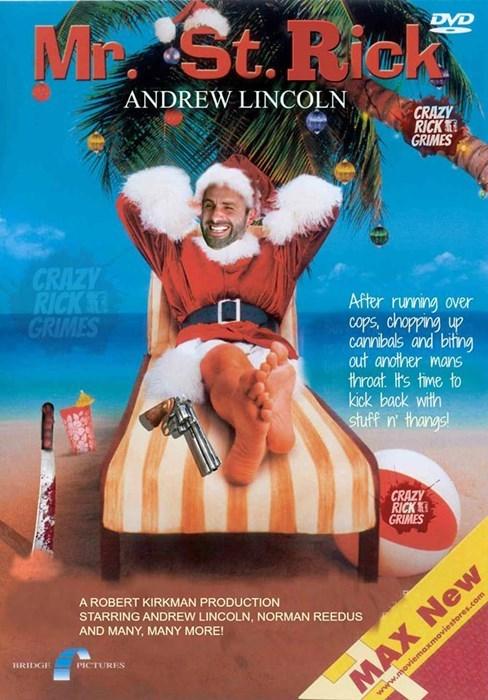 christmas Rick Grimes saint nick - 8409590784