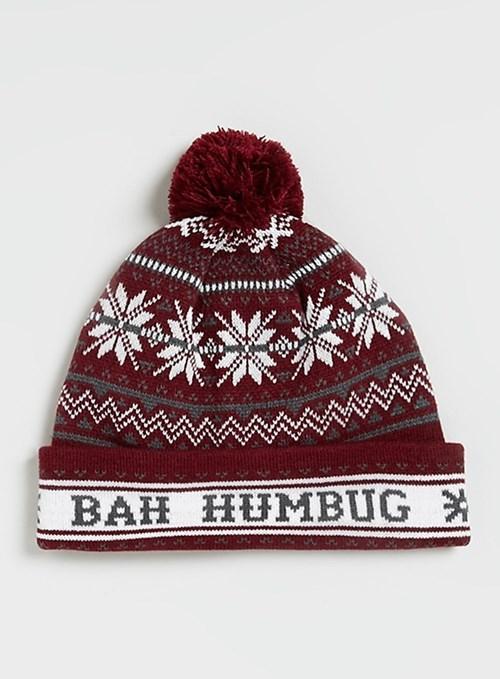 christmas poorly dressed bah humbug hat - 8409802752