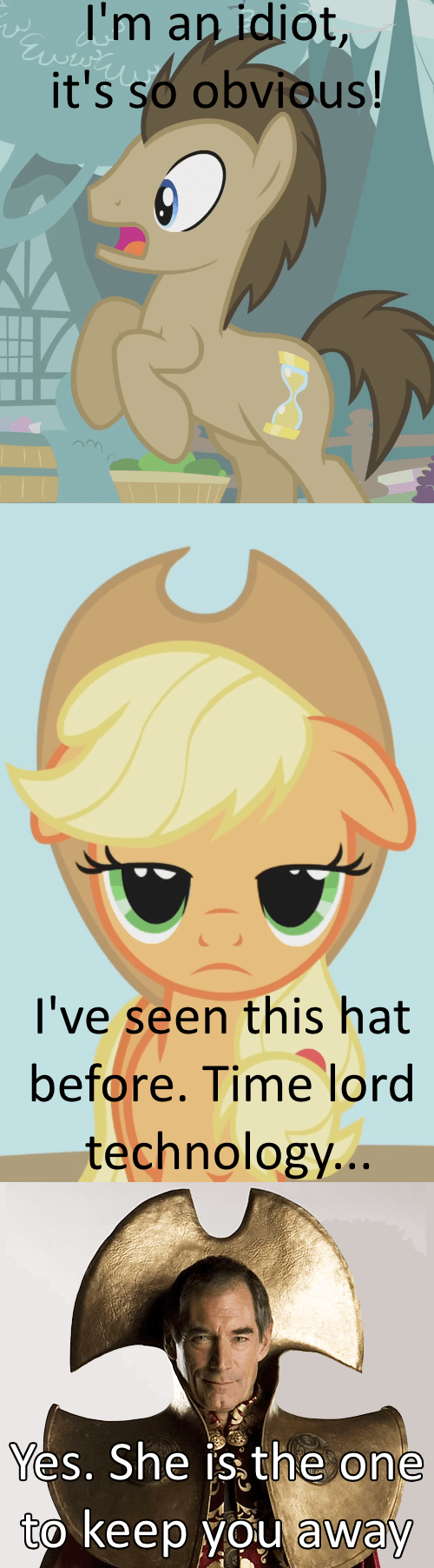 applejack doctor whooves Time lord bigger on the inside - 8409938944