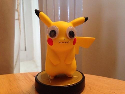 Pokémon amiibo pikachu derp - 8410088192
