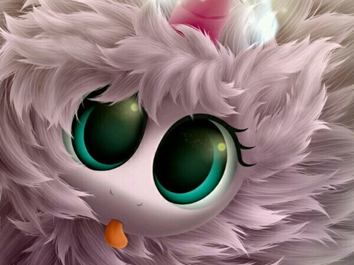 flufflepuff cute tongue - 8410243840