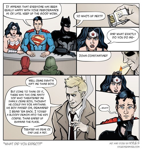 justice league constantine web comics - 8410571776