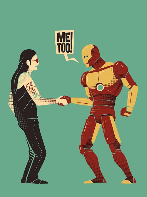 art iron man Ozzy Osbourne - 8410575360