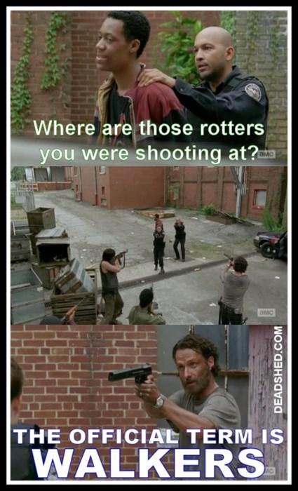 Rick Grimes walkers The Walking Dead - 8410977280