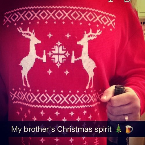 christmas beer reindeer funny - 8411014400