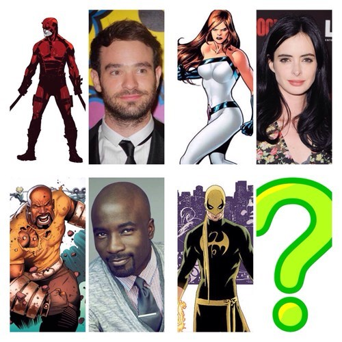 iron fist Luke Cage the defenders jessica jones netflix mcu daredevil - 8411025664