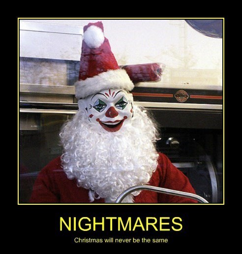scary wtf creepy santa funny - 8411057408