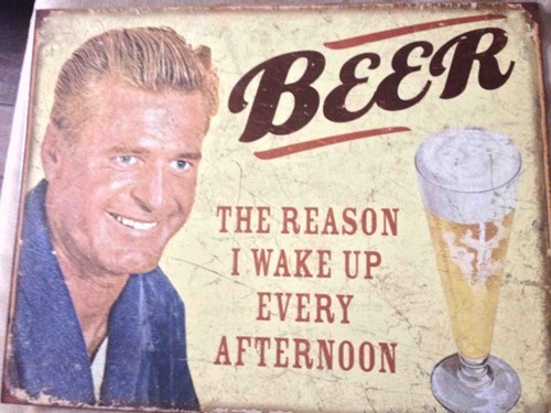 beer is why you wake up