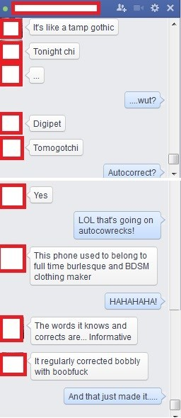 BDSM owner's used phone....