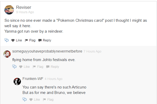 yanma christmas comments Pokémemes - 8411334656