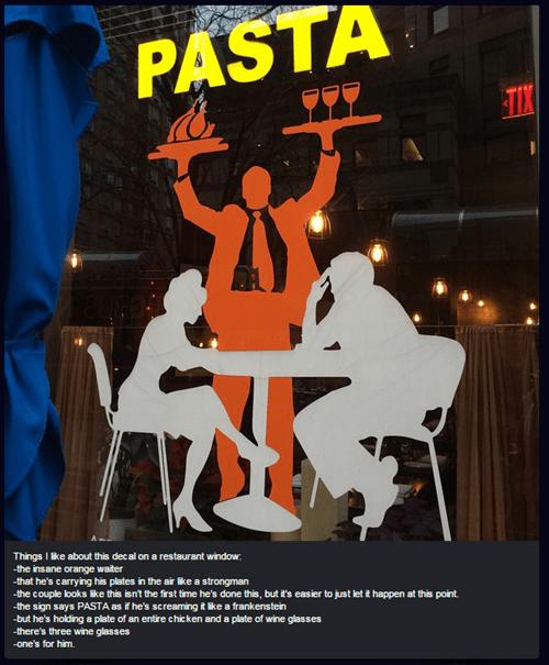 monday thru friday art windows restaurant - 8411691264