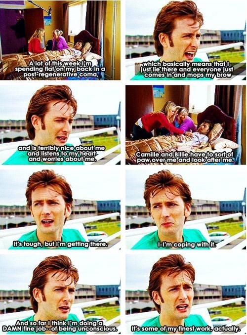 acting David Tennant 10th doctor hard work - 8411695872