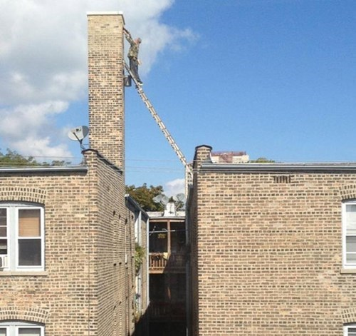 monday thru friday,ladder,safety first