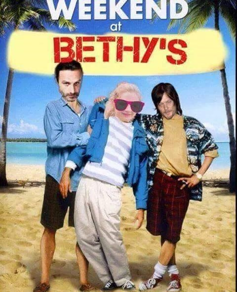 weekend at bernies,beth greene