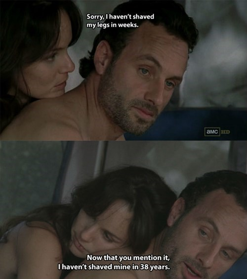 lori grimes,Rick Grimes,Walking Dad Jokes