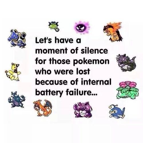 Sad battery failure Pokémon old school - 8411798784