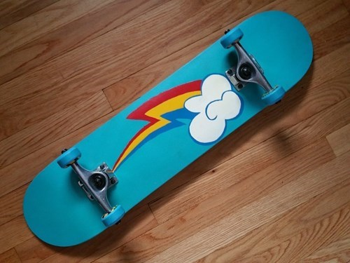 cutie mark for sale skateboard rainbow dash - 8411809536