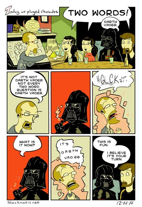 games darth vader web comics - 8411813376