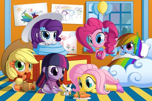 Babies equestria girls mane 6 - 8411813888