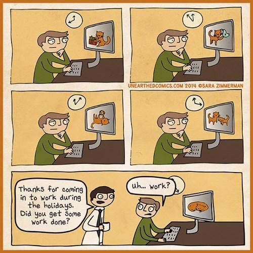 work holidays web comics - 8411814656