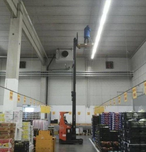 monday thru friday,forklift,safety first