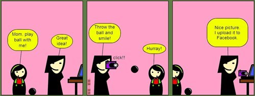sad but true parenting social media web comics - 8411816704