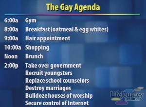 church,gay agenda