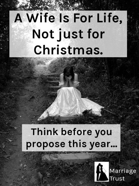 christmas funny proposal marriage wife - 8411898368