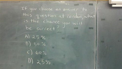 chalkboard funny random math g rated School of FAIL - 8411929600