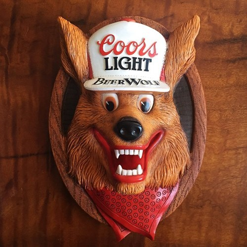 beer coors light Insanity Wolf funny - 8411940864