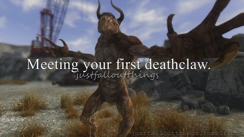 fallout deathclaws - 8412023808