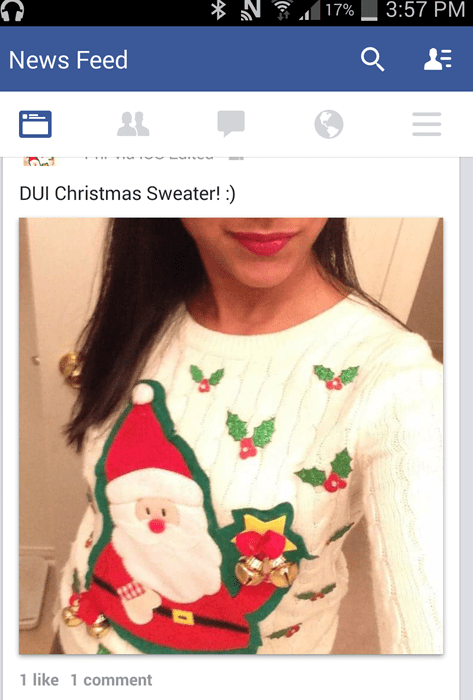 christmas facepalm sweater spelling - 8412094208