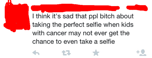 deep cancer selfie failbook - 8412098304