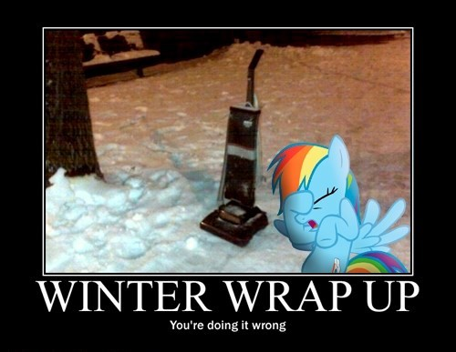 youre-doing-it-wrong,winter wrap up,rainbow dash