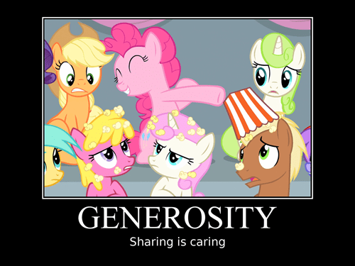 elements of harmony generosity pinkie pie - 8413350656