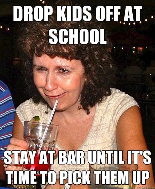 bar kids drunk funny parents - 8413356032
