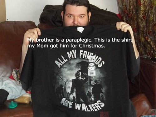 poorly dressed t shirts The Walking Dead g rated - 8413753600