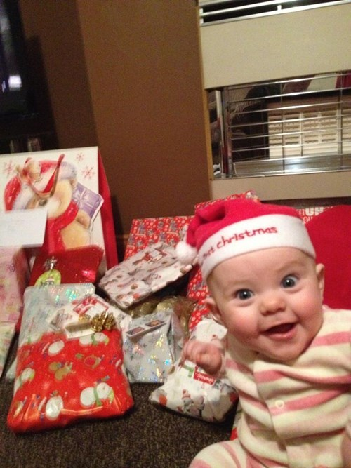 christmas,baby,expression,parenting,happy