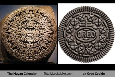 The Mayan Calendar Totally Looks Like an Oreo Cookie
